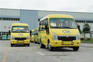 助建城乡公交一体化 五菱客车奔赴四川